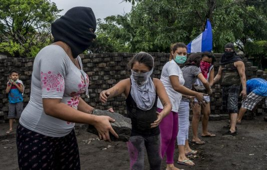 Las protestas en Nicaragua vistas por Javier Bauluz, fotógrafo ganador del premio Pulitzer