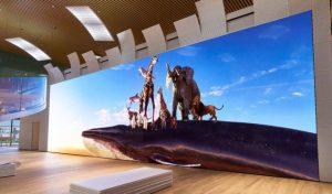 Cómo es la tecnología MicroLED que permitió crear la pantalla más grande del mundo con 20 metros