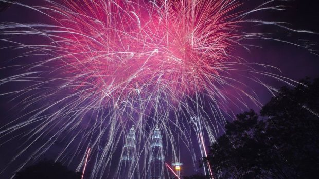 Imágenes de año nuevo 2020: las celebraciones alrededor del mundo