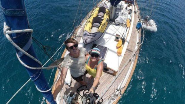 Coronavirus: la pareja que estuvo semanas en alta mar sin saber nada de la pandemia de covid-19