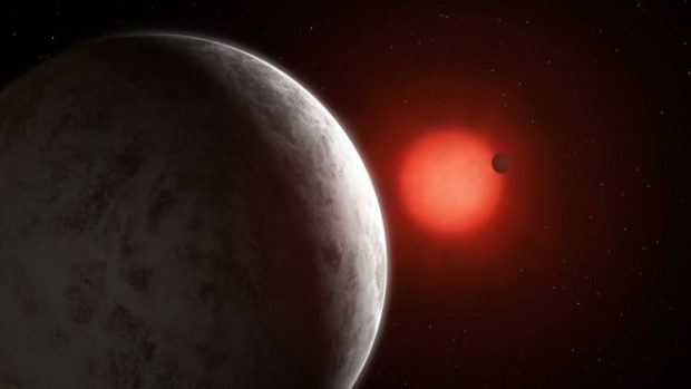 """El descubrimiento de dos """"súper Tierras"""" en un sistema planetario cercano al sistema solar"""