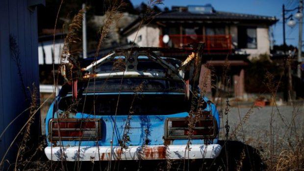 Fukushima: cómo son los pueblos fantasma con desechos radiactivos en los que nadie puede vivir 10 años después del desastre nuclear