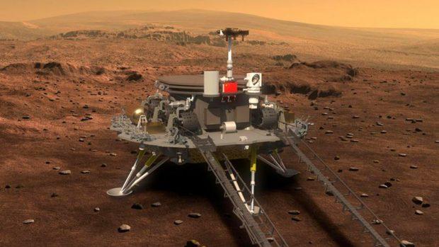 China se convierte en el segundo país del mundo en aterrizar con éxito en Marte con un robot